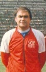 Стефан Грозданов като треньор на Хебър