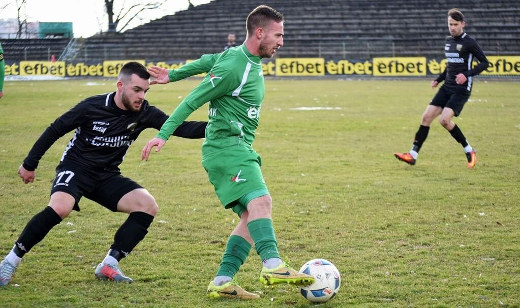 Завърналият се в Хебър Иван Иванов вкара втория гол.