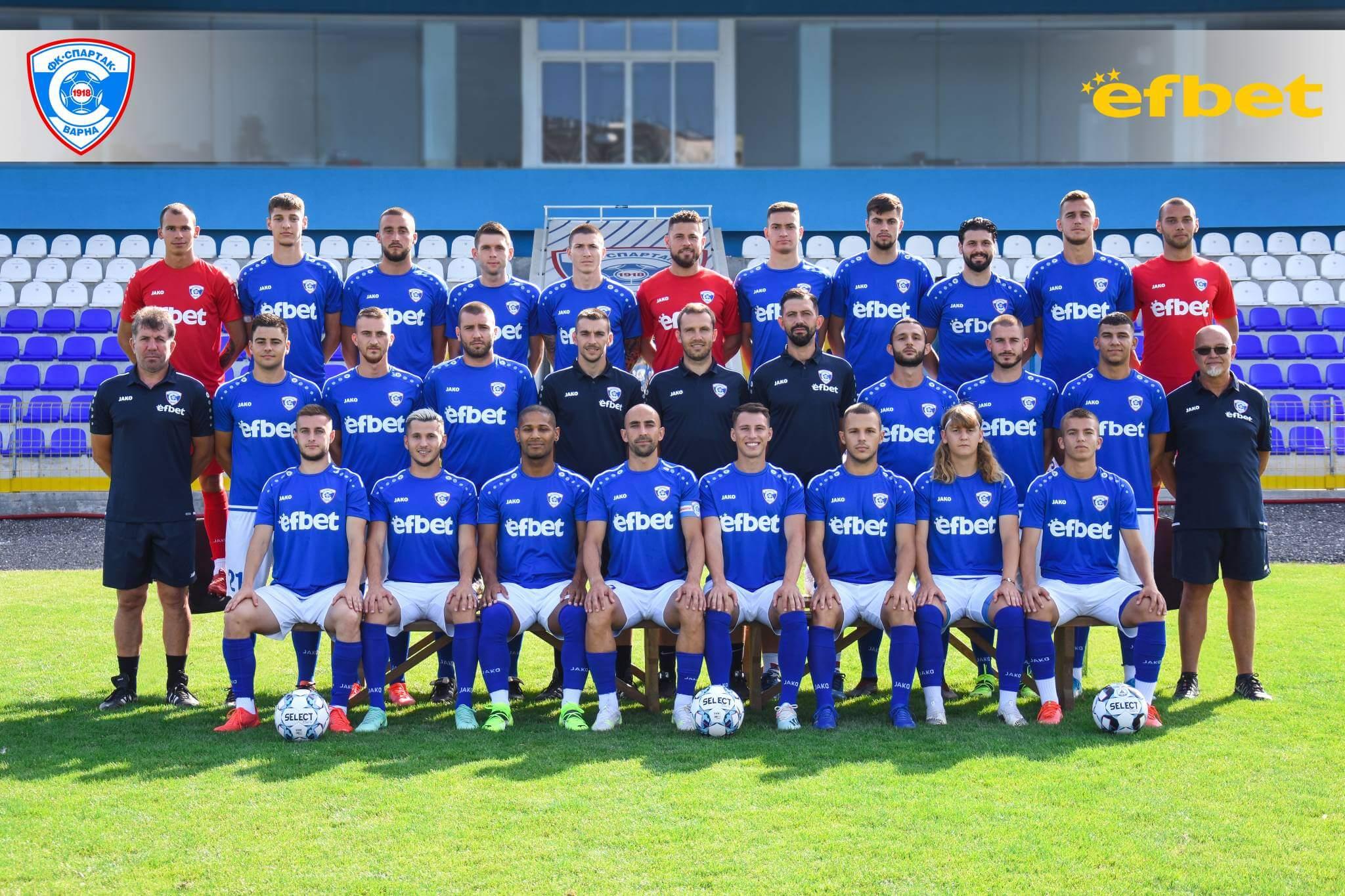 Спартак (Варна) сезон 2021/2022